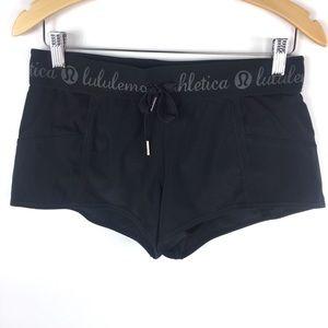 Lululemon Athletica Rare Black Running Shorts